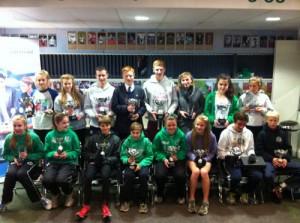 2013 Intertrust Junior Grand Prix trophy winners