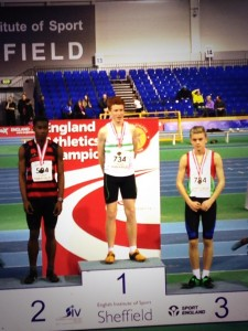 Alistair Chalmers - 2014 u15B National Indoor 60m Hurdles Champion