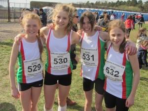 2014 Channel Isles Junior Girls XC Team