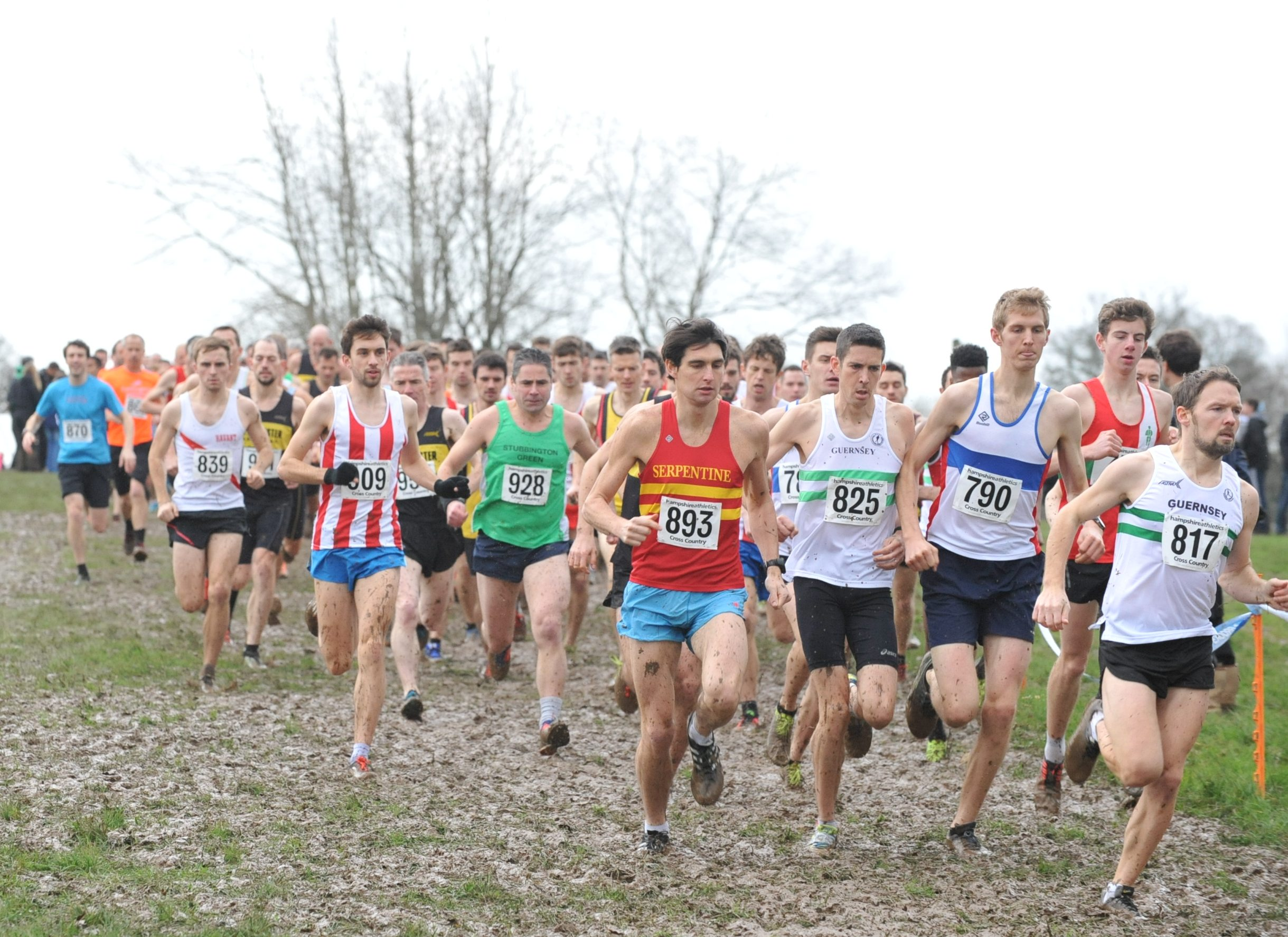 Hampshire XC Champs 2016- Guernsey Distance Running's greatest day?