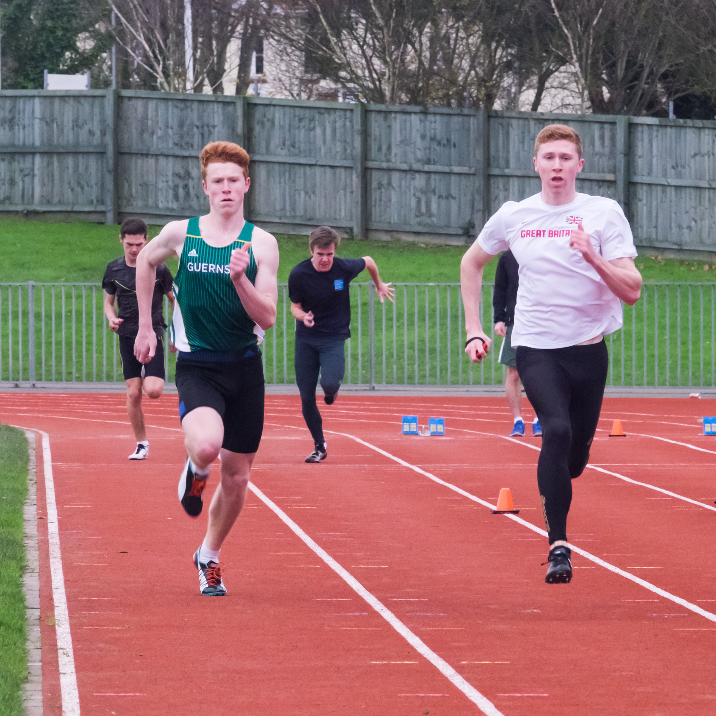 Four in action in this weekend's national indoor championships