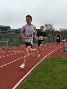 Soggy start to the track season at Footes Lane
