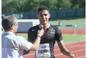 Mortimore and Reid show their class at Intertrust Athletics Games