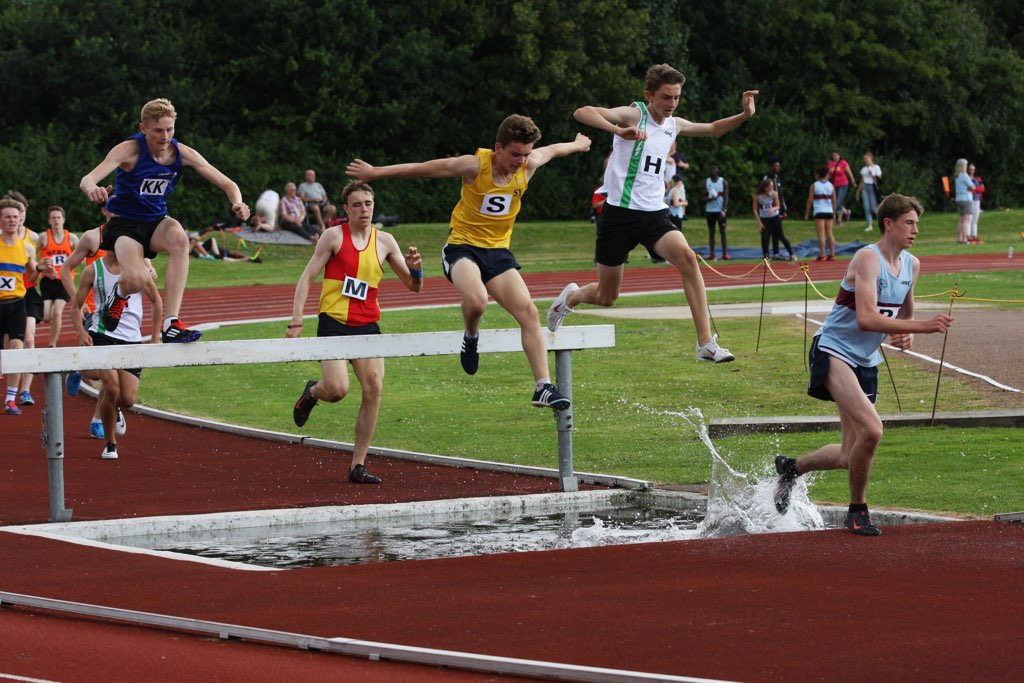 GIAAC u17 men help Hants to 2nd place at SEAA Inter Counties