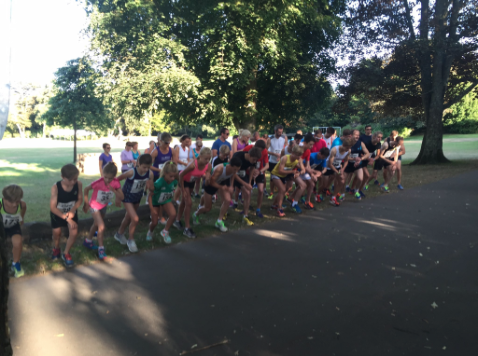 Lee Merrien Running/GIAAC Park 5km August