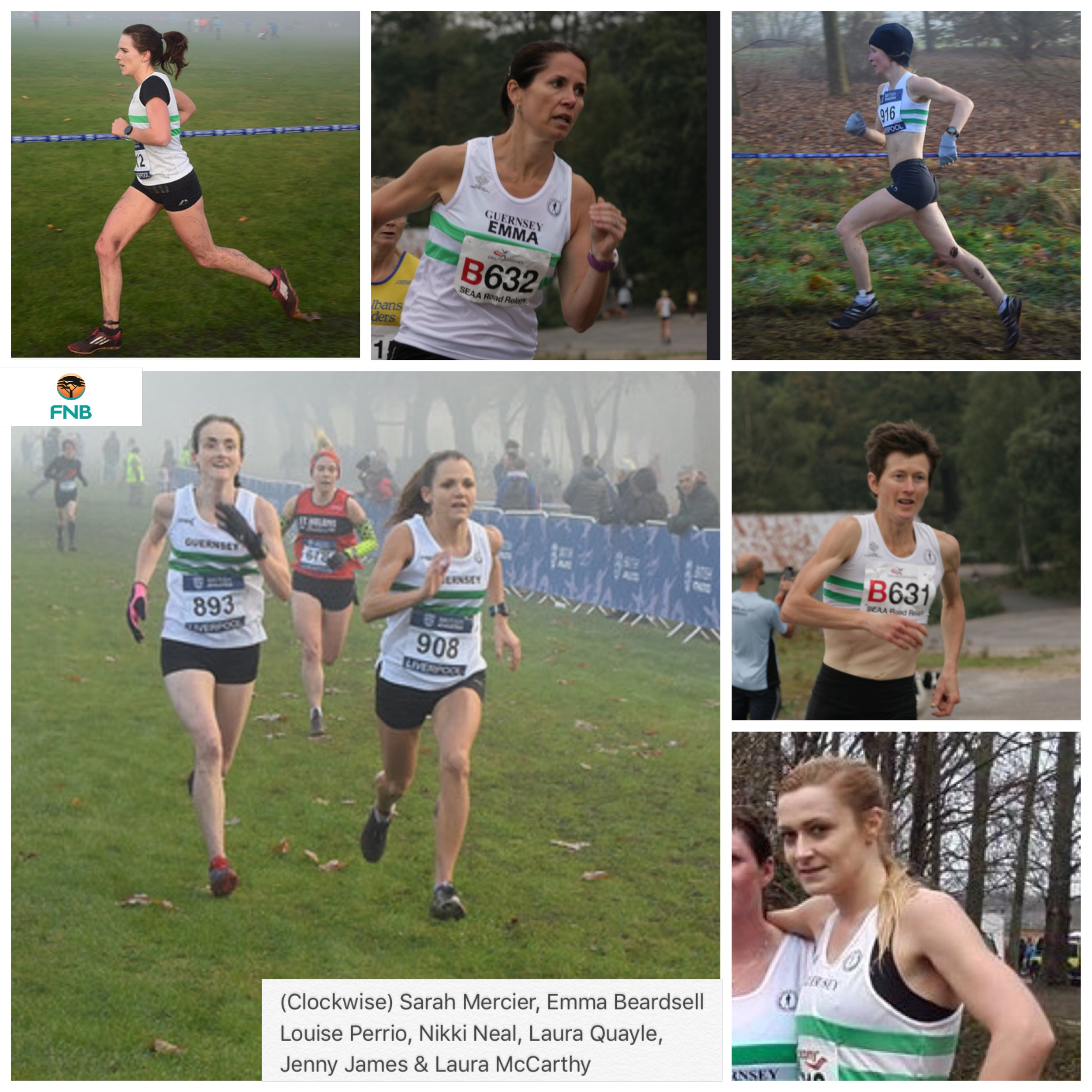 Guernsey teams for Hampshire County XC