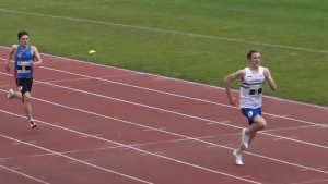 Curtis looking English Schools-bound following strong debut in the 400m hurdles