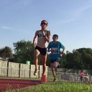 Perrio & juniors sizzle in the heat over 1500