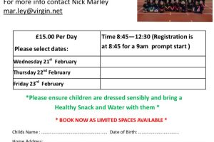 Guernsey Athletics Winter Training Camp – School years 2-7