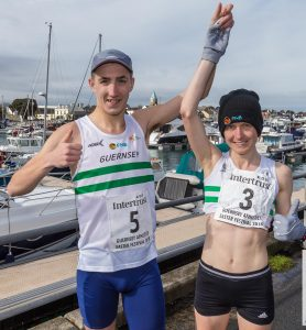 Liberation Day Chertsey House Road Race – Burling and Perrio on song again.