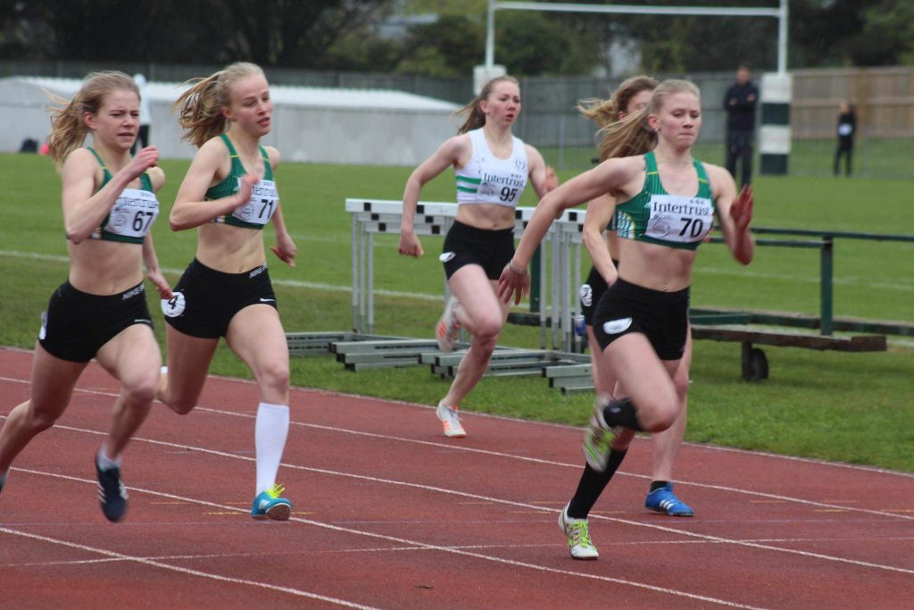 Female sprinters put down early-season markers
