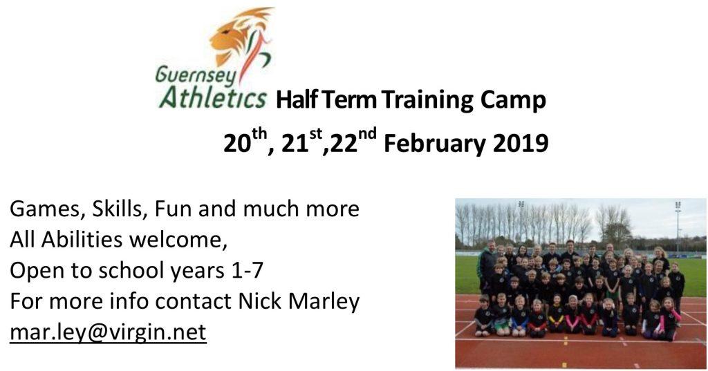 February Half Term Training Camp