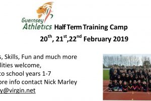 February Half Term Training Camp