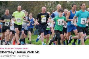 Chertsey House Park 5k – Update